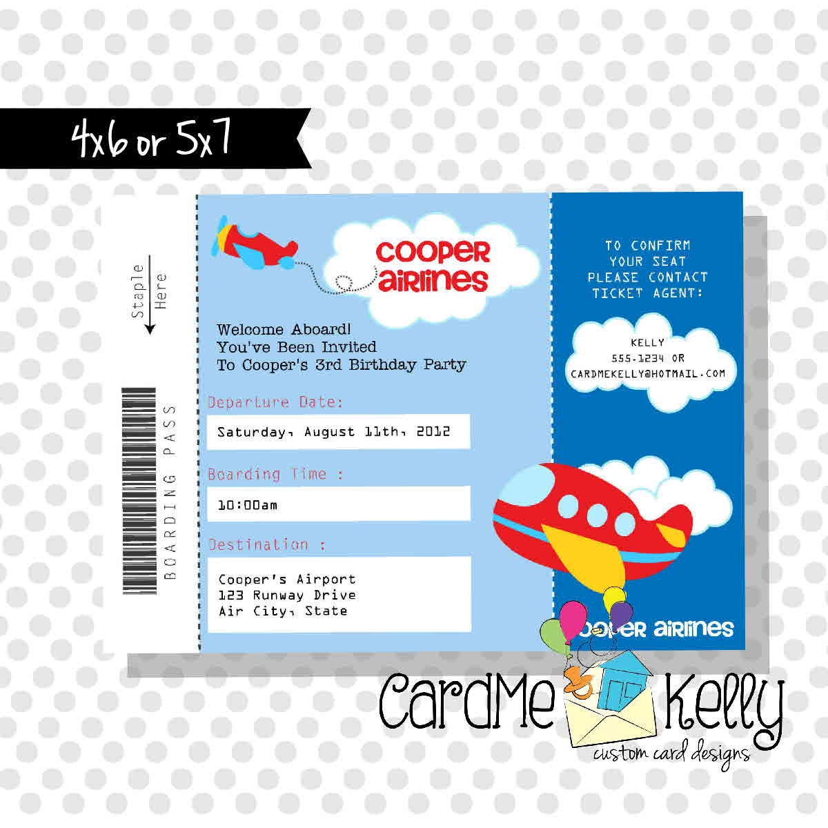 airline ticket template printable .