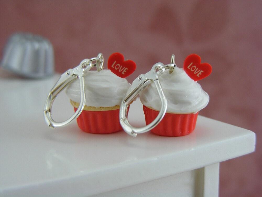Up With Love - Cupcake Серьги