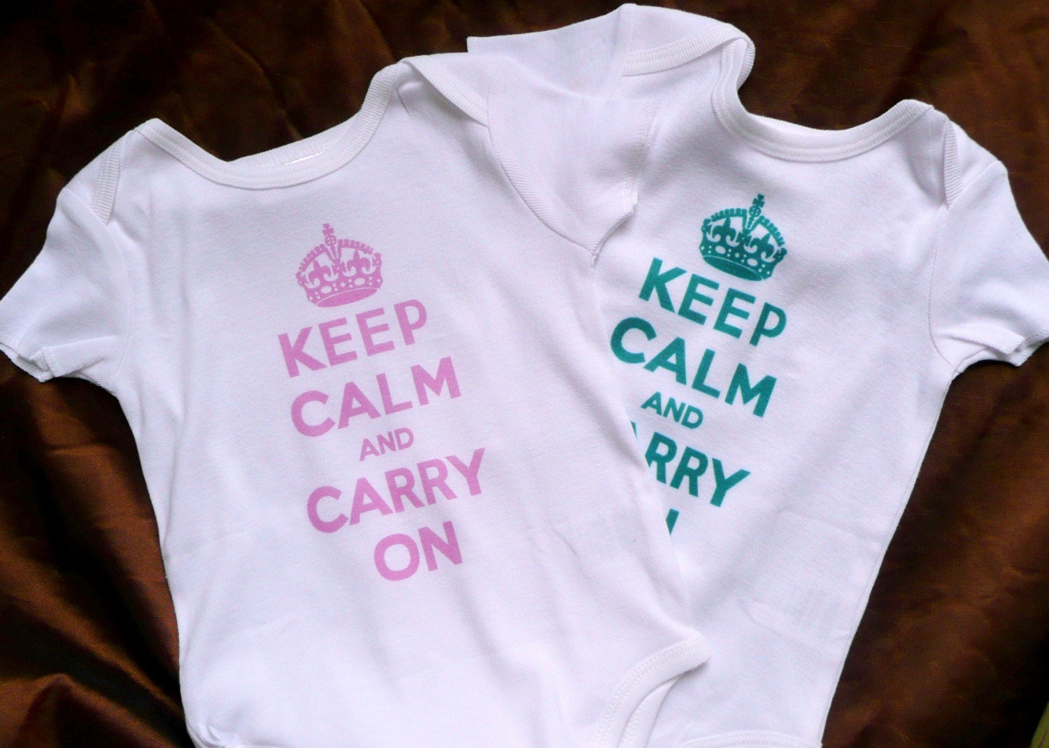 Keep Calm and Carry On Onsie Baby Toddler Children
