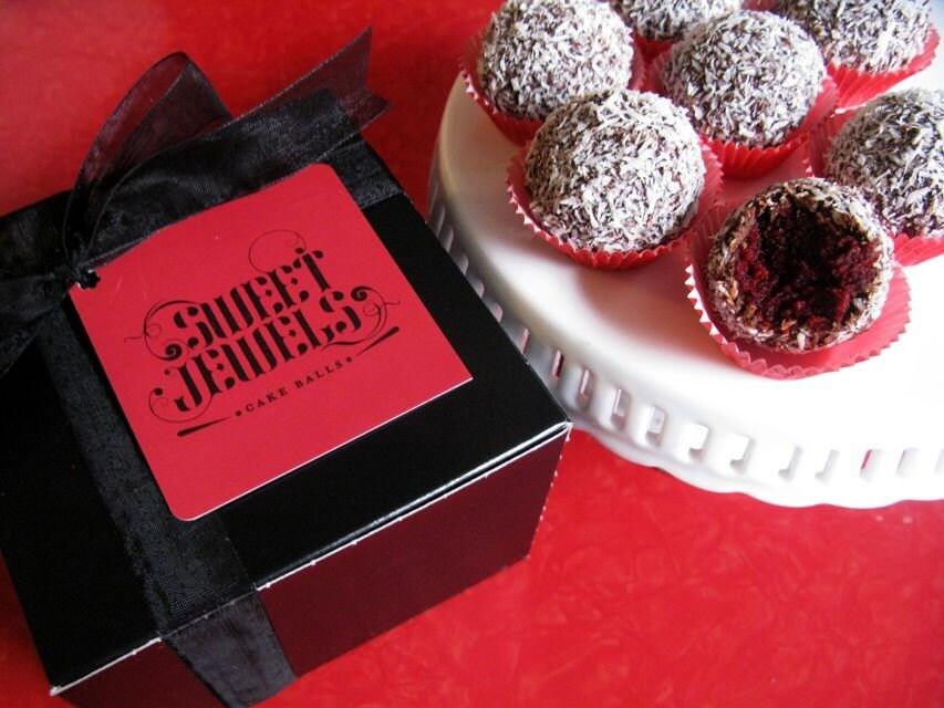 Sweet Jewels Cake Balls