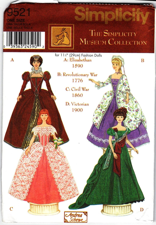 Fashion doll sewing patterns free 41