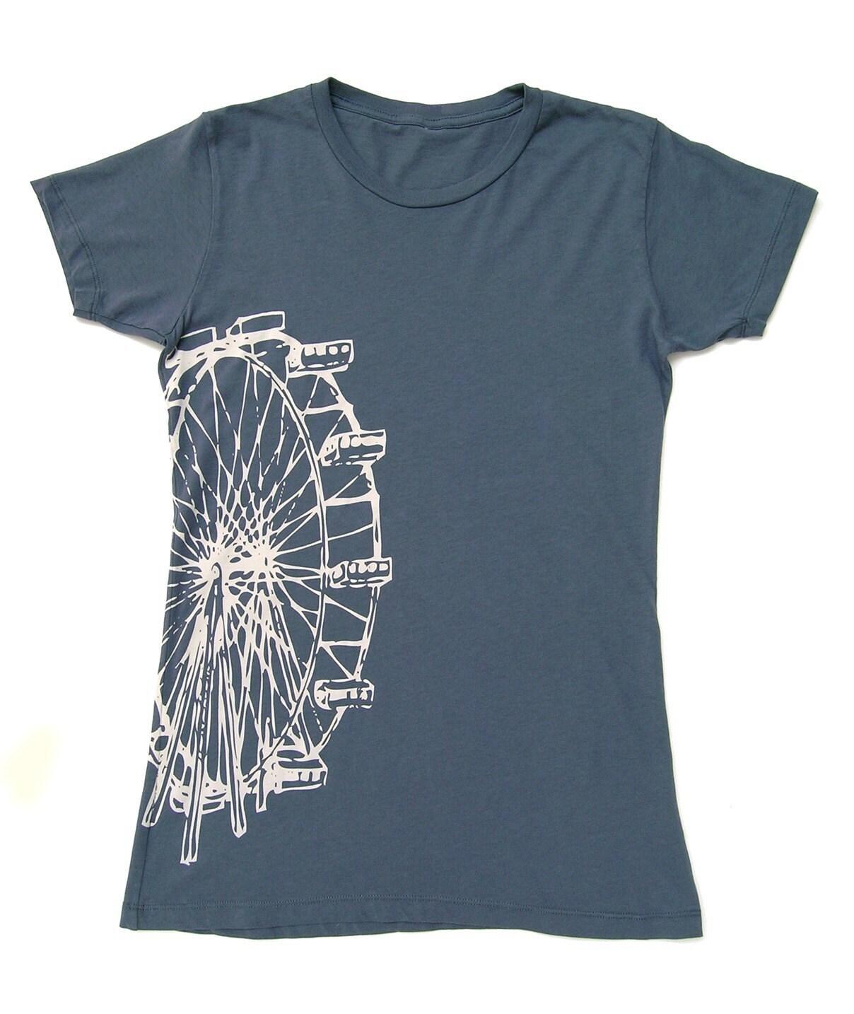 Ferris Wheel T-shirt Size L