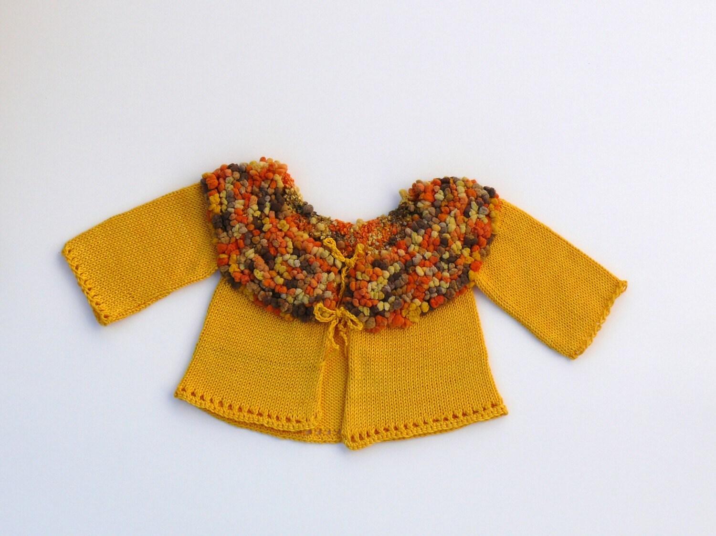 منحصر به فرد شایان ستایش ژاکت کش باف پشمی کودک knitted