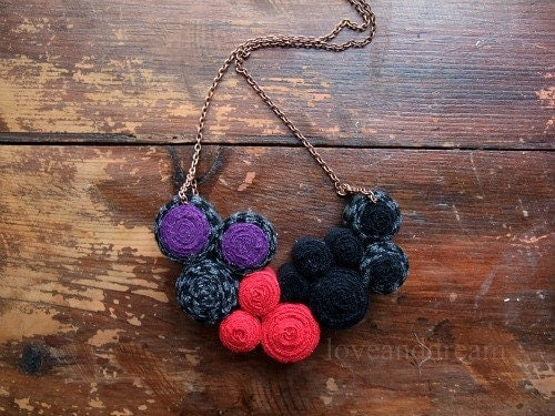Fibre Necklace