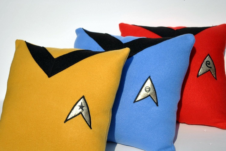 Complete Star Trek Pillow Set