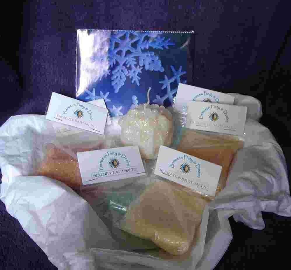 Aromatherapy Bath Salts Sampler