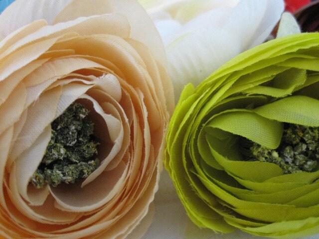 10 Шелковые цветы Розы - Дамских, Измененные Couture, волос Цветы, Baby Заставки