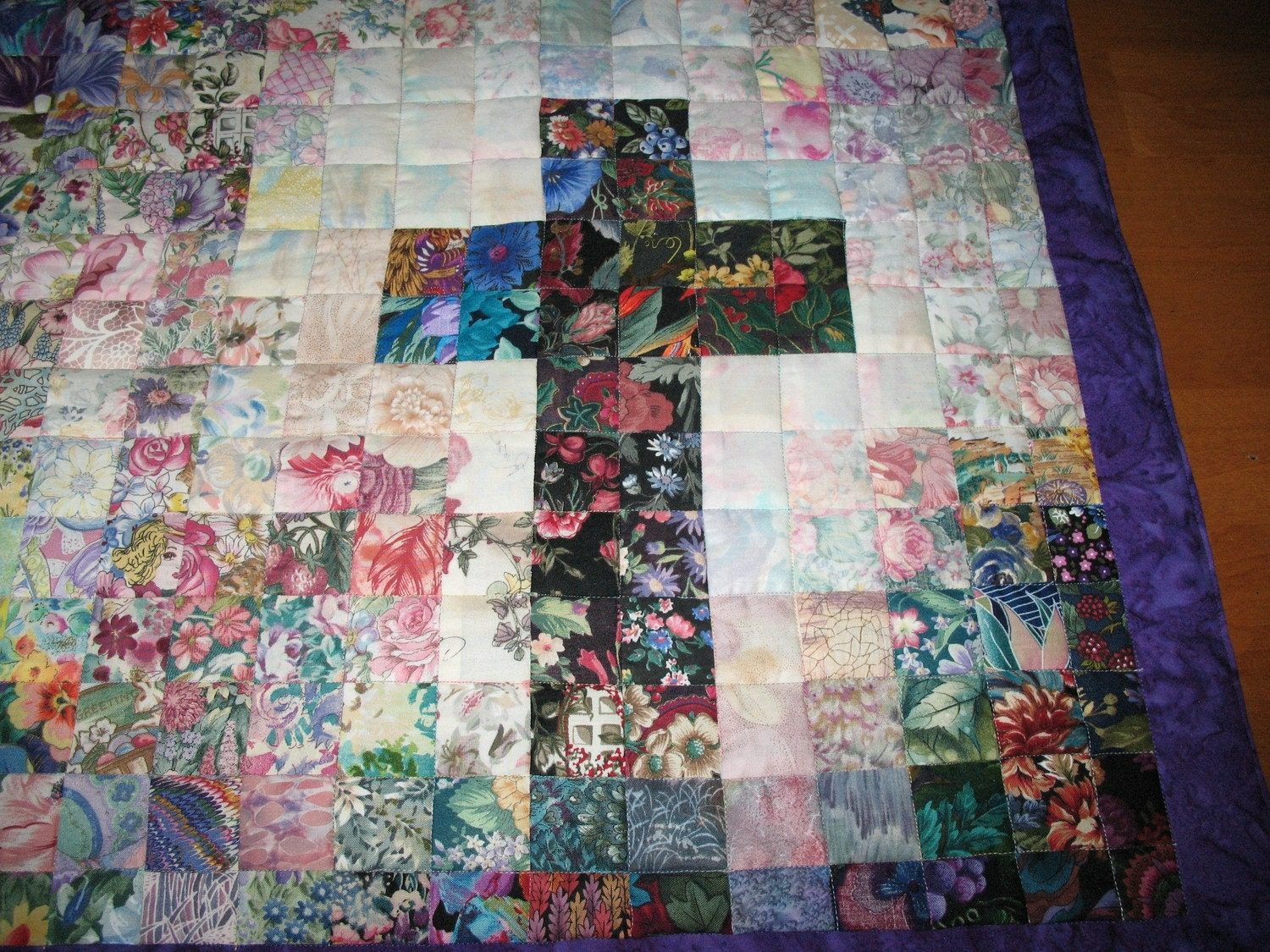 Items Similar To Christian Cross Wall Hanging Art Quilt On