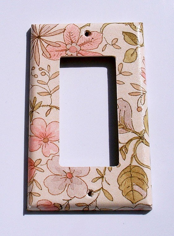 Light switch cover wall decor switch plate by for Decor light switch