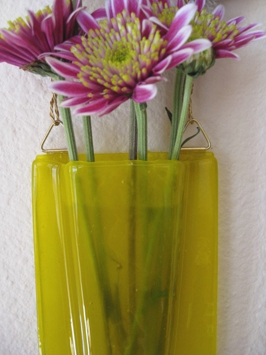 Glass Pocket Vase