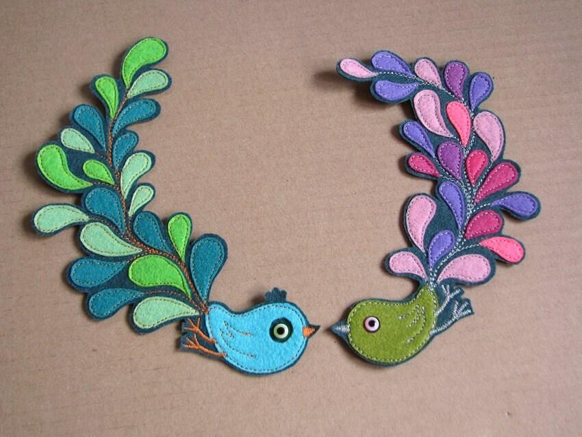 Fantastic Felt Birds
