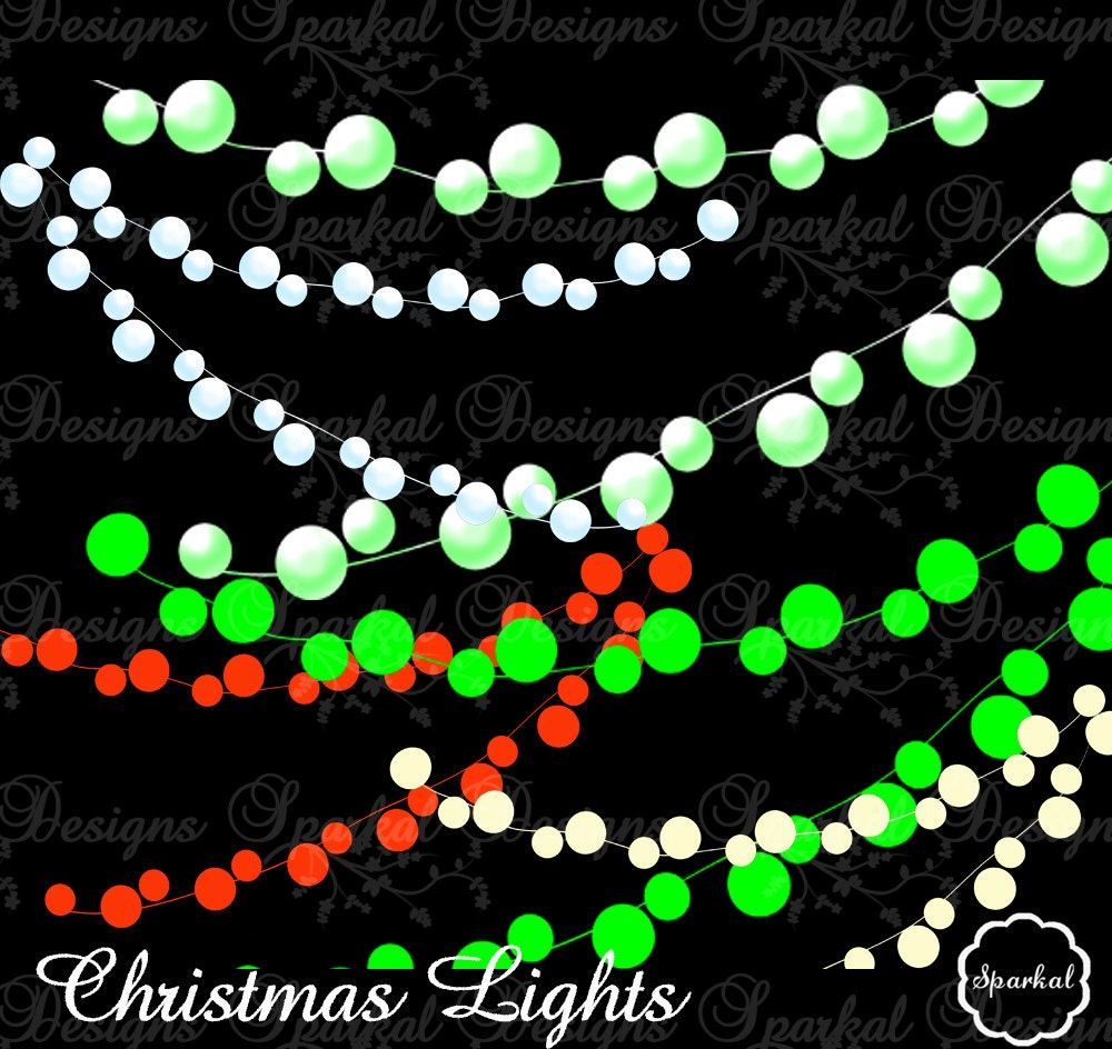 Light Clipart Lights Clip Art PARTY LIGHTS Great For Scrapbooking Or Invitations Scrapbook Elements
