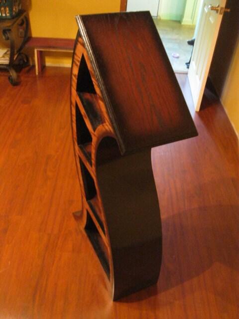 4ft Curved wood shelf - ($525)