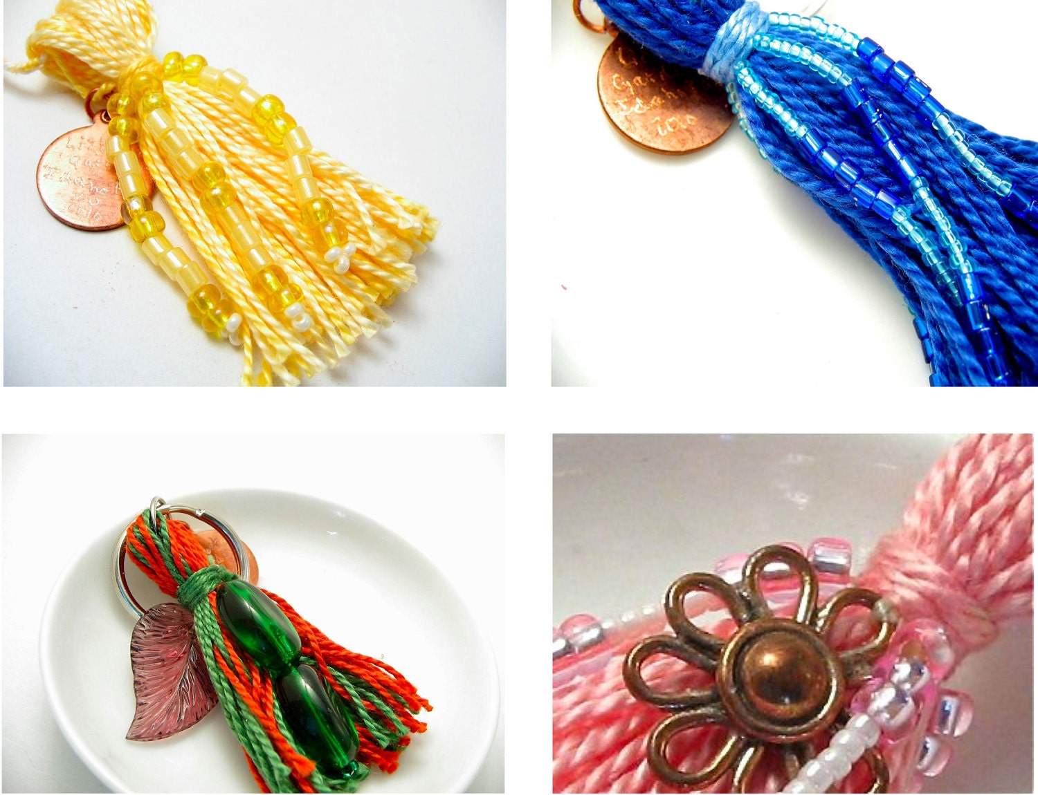 Design Your Own Beaded Tassel
