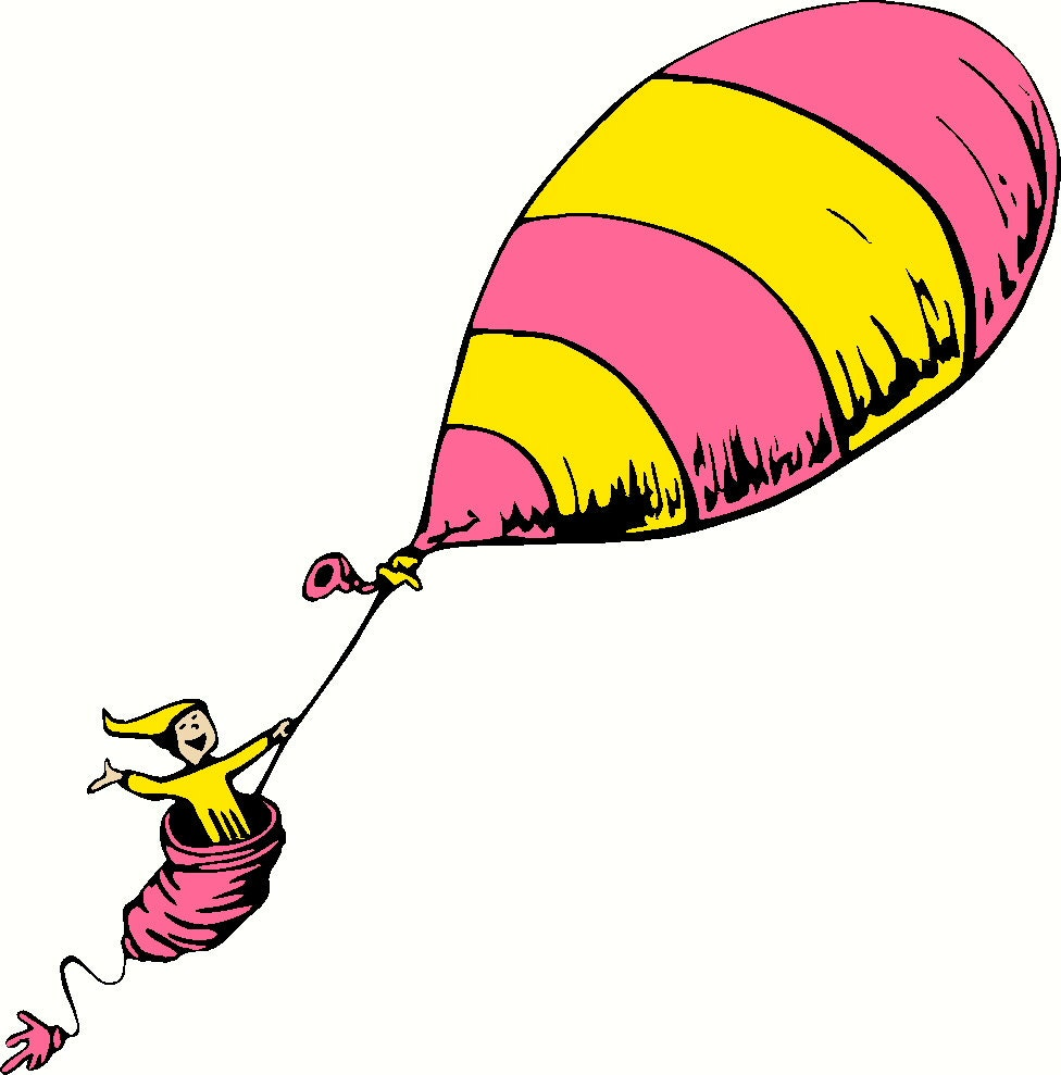 Items Similar To Dr Seuss Places You Ll Go Balloon