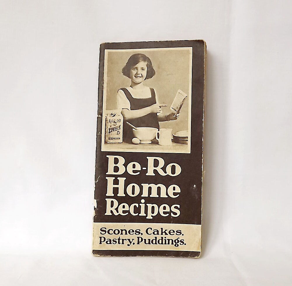 be ro home recipes book from the 1950s by maisonmaudie on etsy