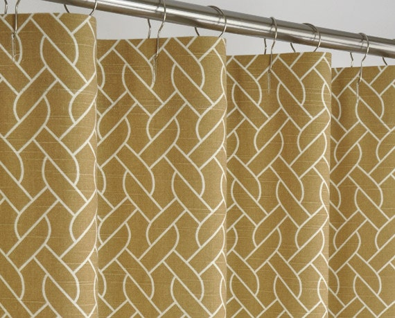 Image Result For Extra Long Fabric Shower Curtain Liner Beige