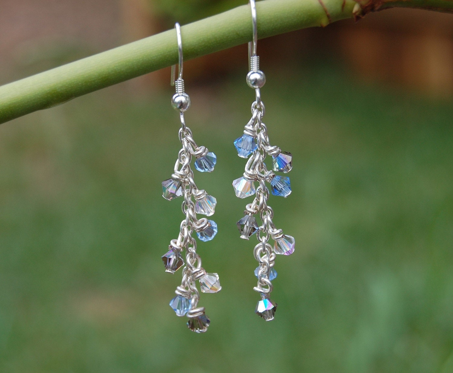 Etsy :: Southerncreations :: Swarovski And Silver Earrings
