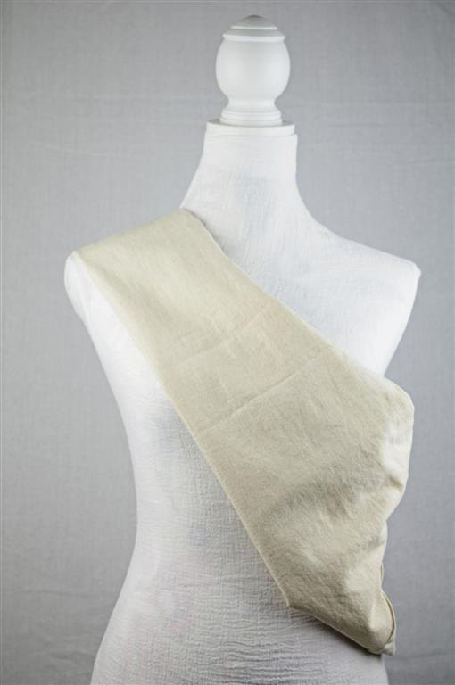 Linen Natural Unbleached Earthsling Sling Pouch Baby Carrier Any Size - earthslings
