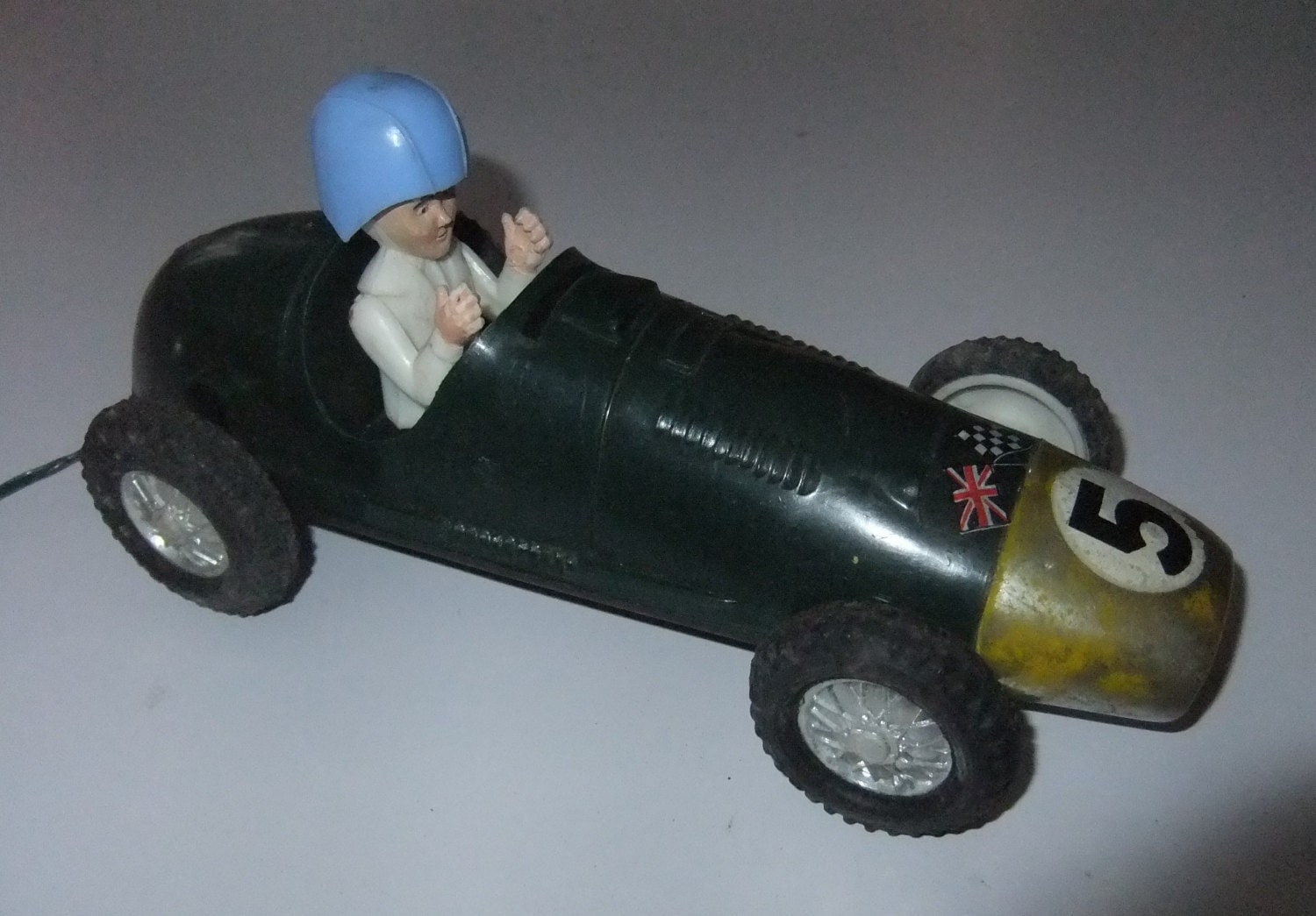 Formula one F1 Classic racing car plastic vintage c1960s battery operated plastic toy Empire made