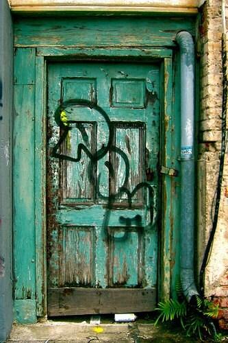 Turquoise Door