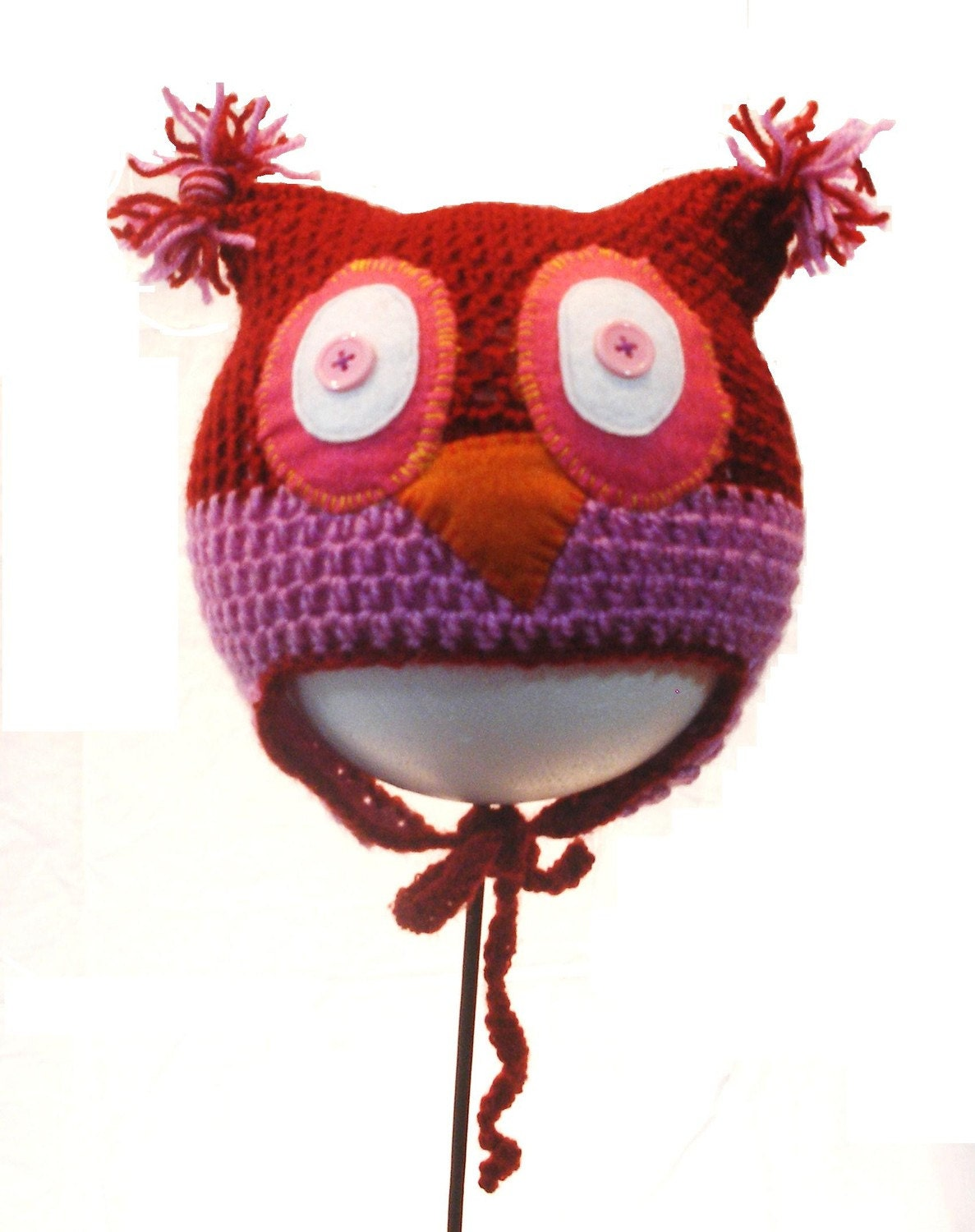 Owl Hat Size 1