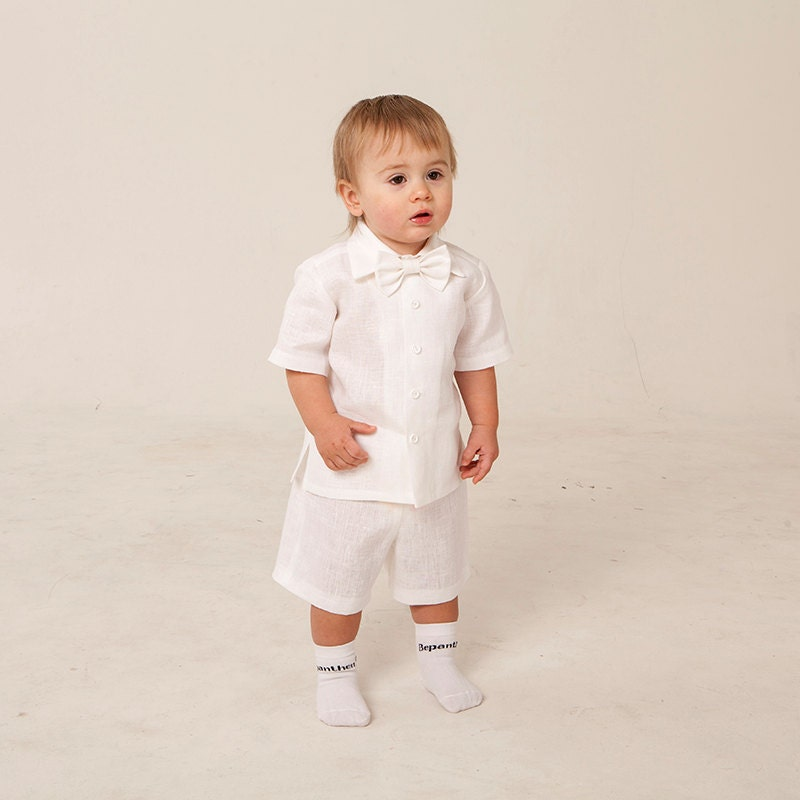 Baby boy baptism outfit hat size 6 9 month ring bearer by