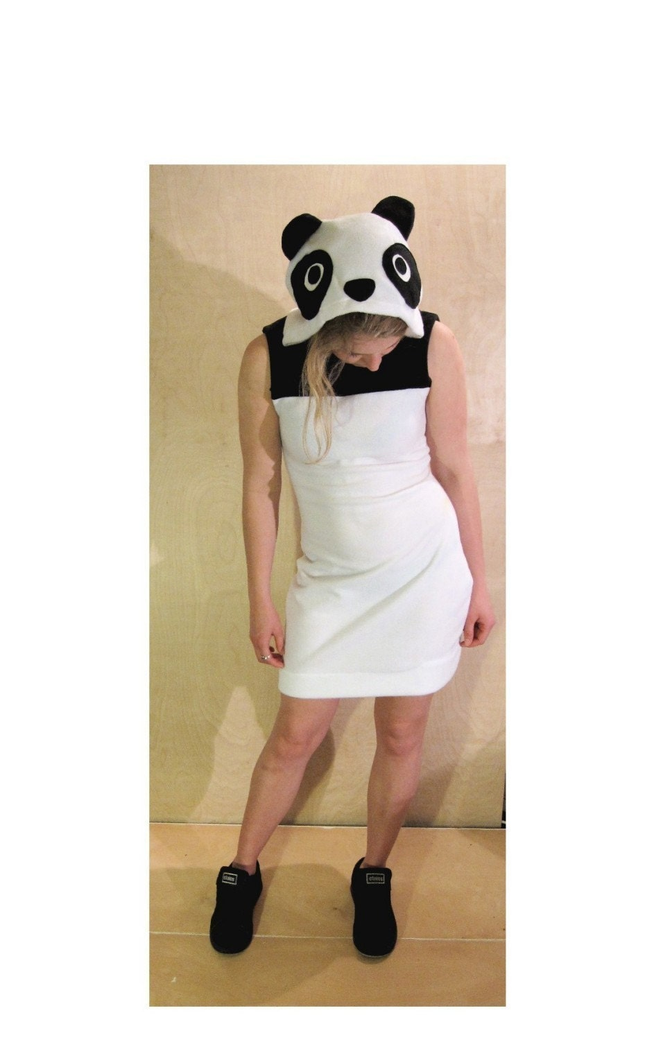 Cutie Pie - Panda Minidress