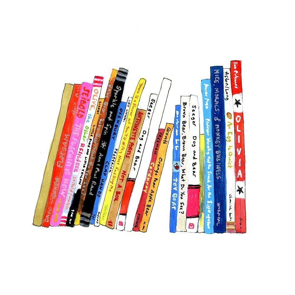 Bookshelf 22 (print)