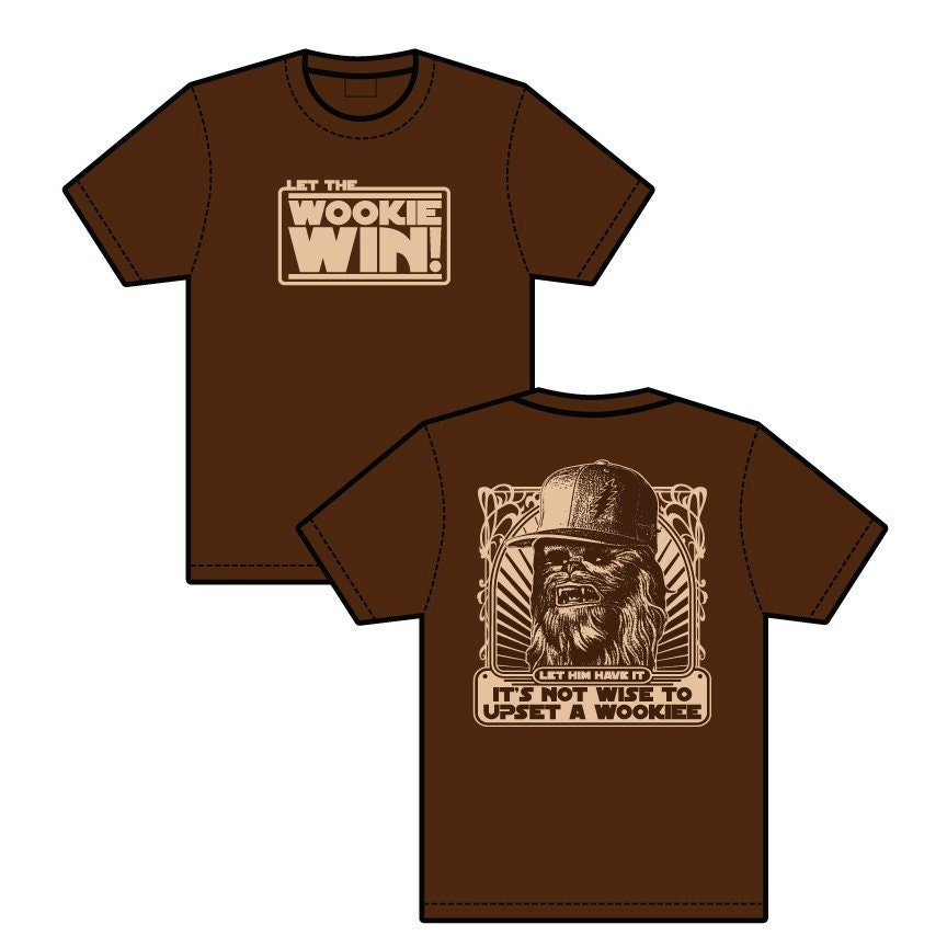 NEW - Let the Wookiee Win lot shirt - Grateful Dead, Phish, Furthur, GDF