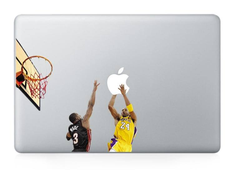 Macbook 13 inch decal sticker basketball Apple art for Apple Laptop