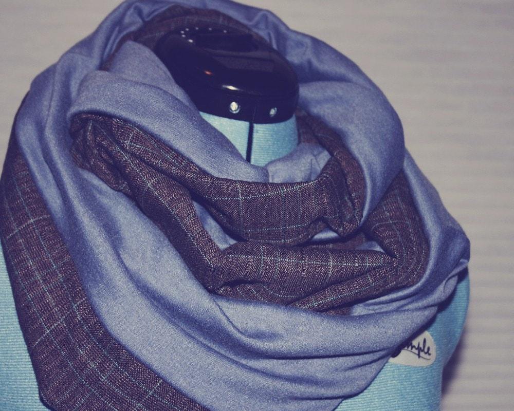 Mr. Rogers (light blue) (circle scarf)