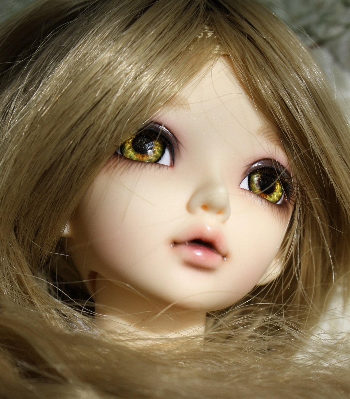 BJD eyes Doll eyes Hand made available in 12141618202224mm Goblet Of Fire made to order