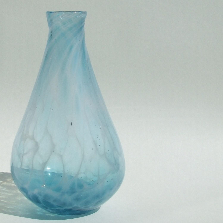 Handblown Glass Wisp Vase