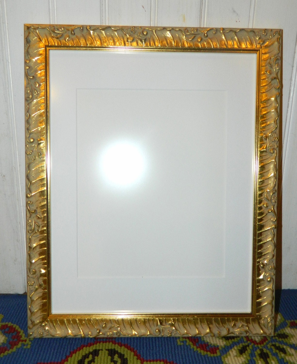 Fancy Gold Picture Frame 11 X 14 Ready By Littlelotusboutique2