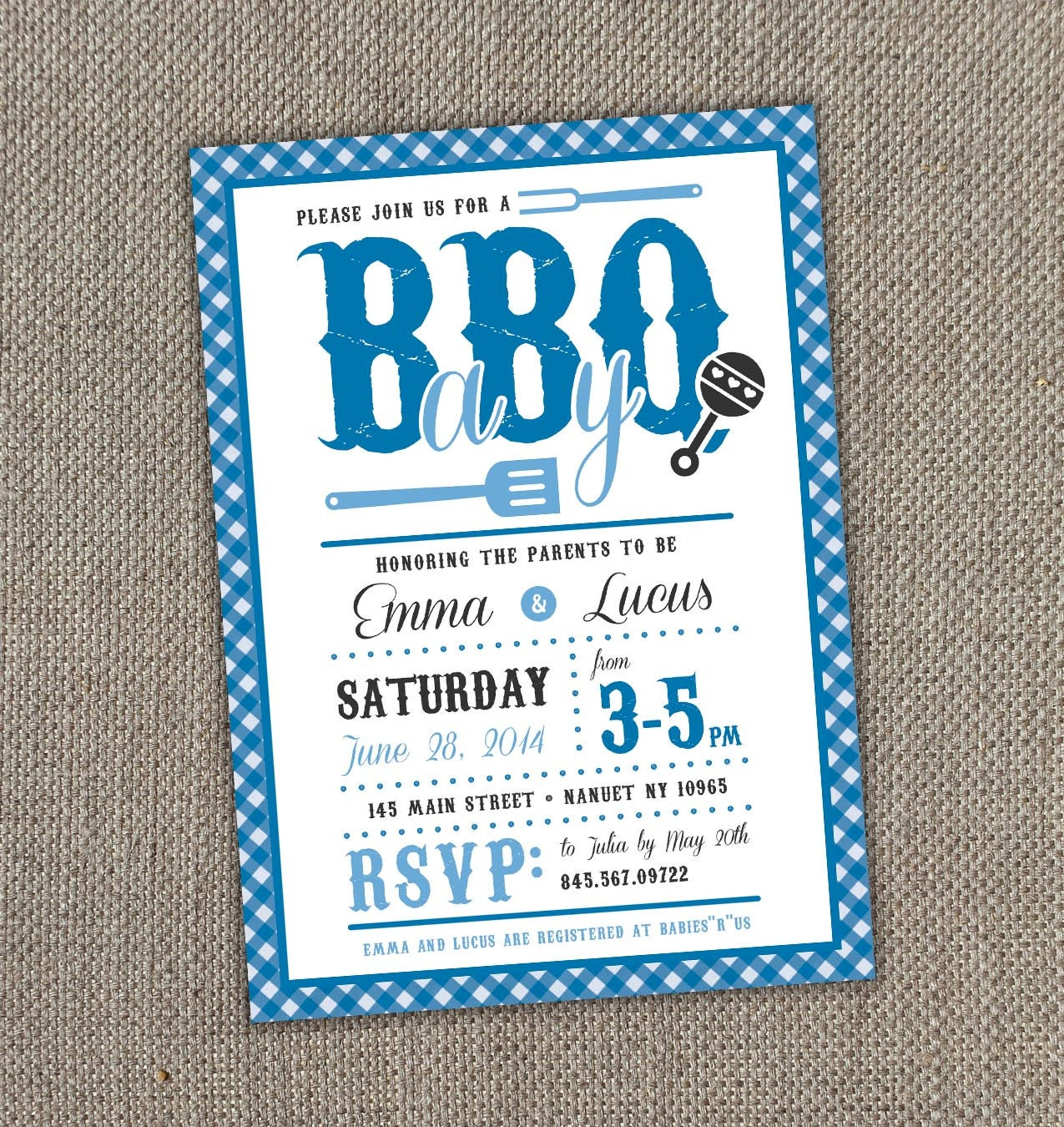 baby bbq baby shower invitation digital file by eventswithgrace
