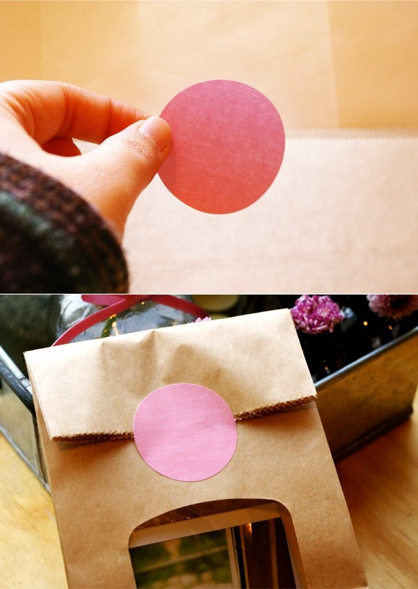 Pastel Circle Index Sticker