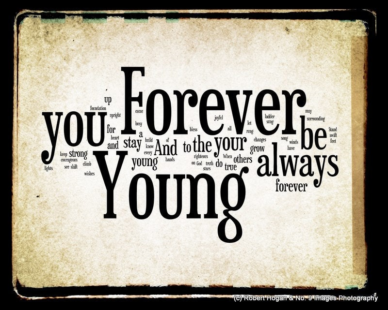 Bob Dylan Forever Young Official