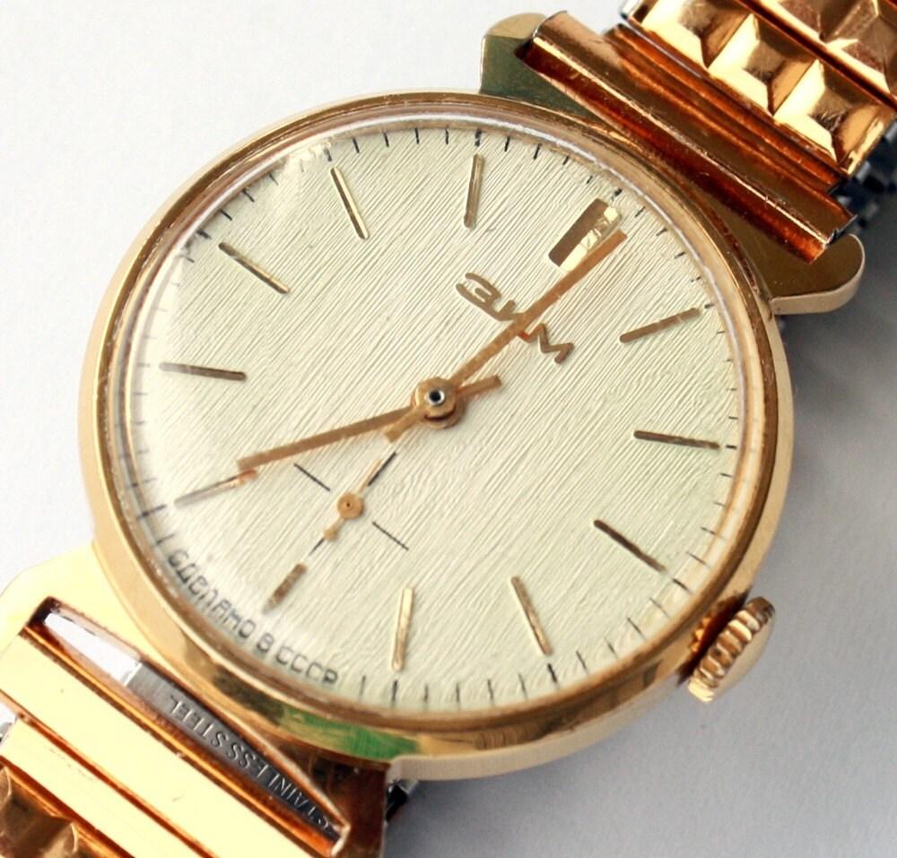 wristwatch ZIM Pobeda from