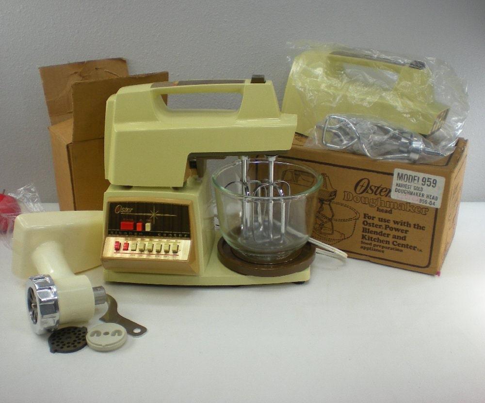 Oster Kitchen Center 12 Spd Mixer Food Porcessor By Oldetymestore