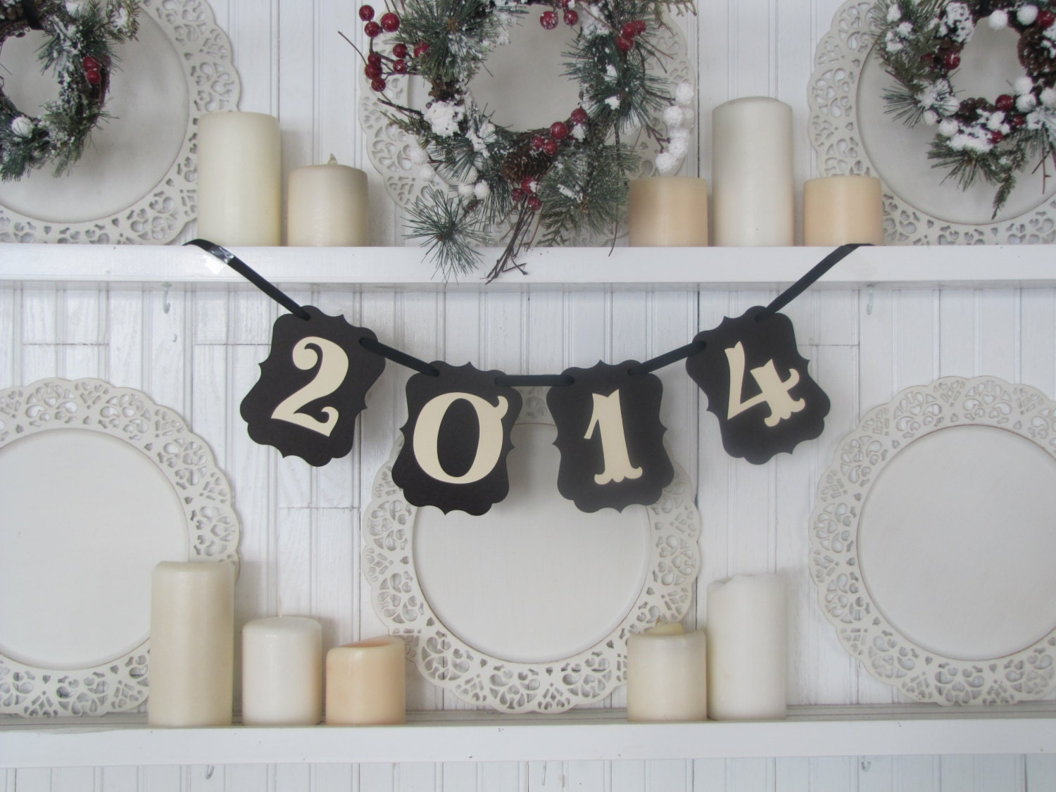 2014 Banner New Year s Eve and Photo Prop - ParamoreArtWorks