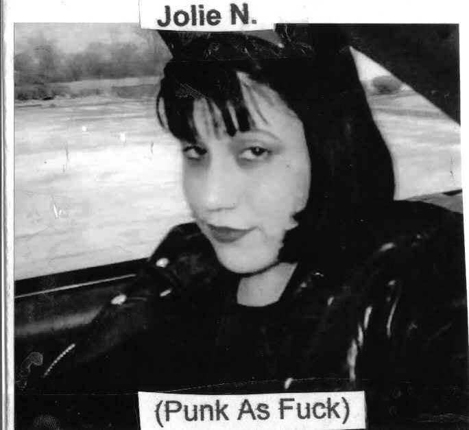 Jolie N. Punk As Fuck CD
