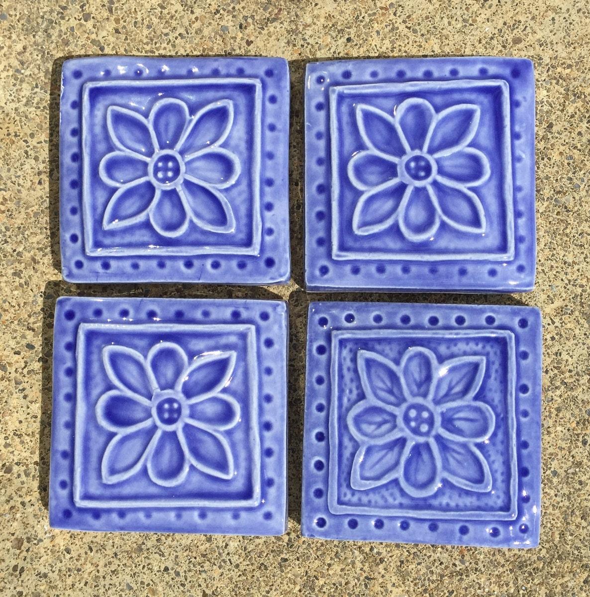 Ceramic tile decorative accents
