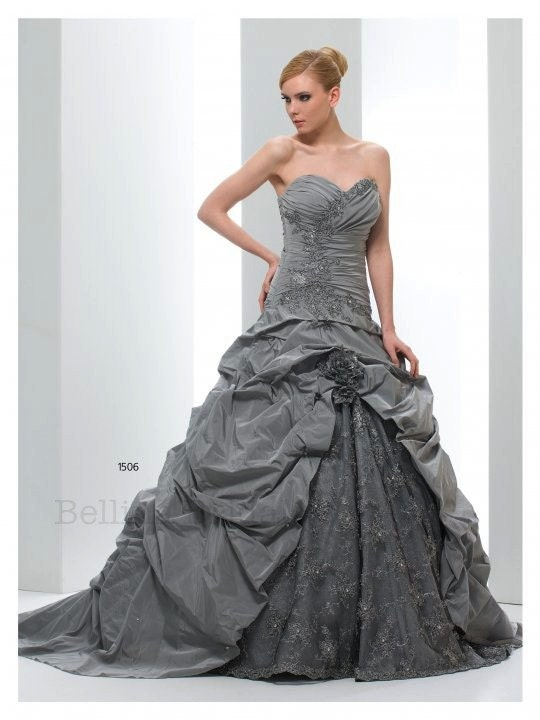 Grigio Wedding Gown