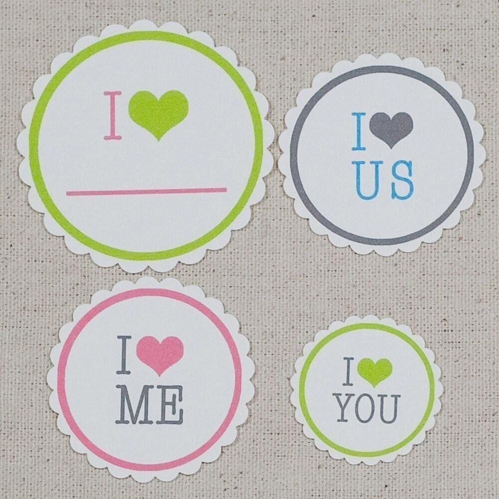 I heart tags
