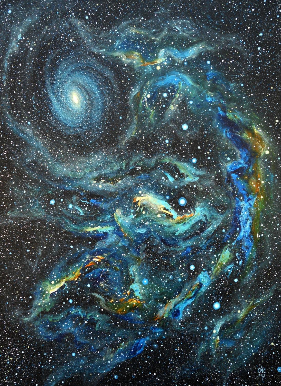 Acrylic Space Painting Tutorial
