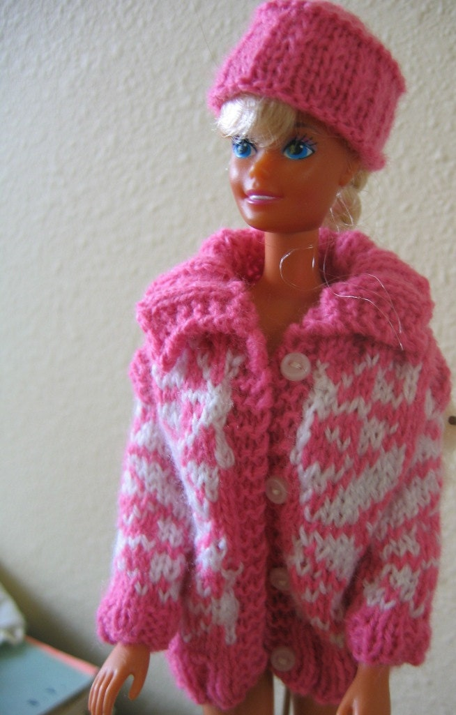 Knit Pattern Central : How To Knit Barbie Clothes Knit Mode Auto Design Tech