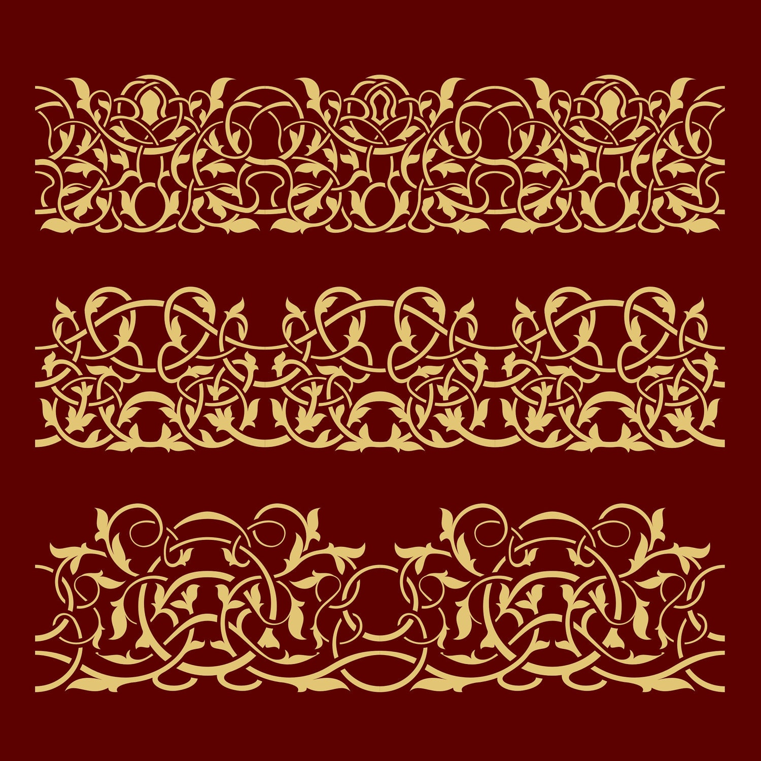Victorian Style Borders Traditional victorian floralVictorian Style Borders