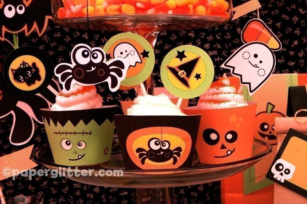Halloween Party Kit- EDITABLE TEXT Printable PDF