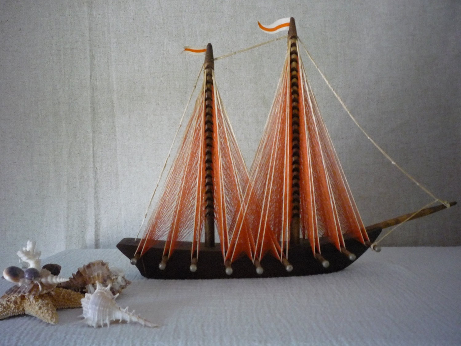 Reserved string art sailboat sailing ship model by shabbylull - String art modele ...